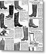 Boots Advertisement, 1895 Metal Print