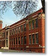 Border Star Elementary School Kansas City Missouri Metal Print