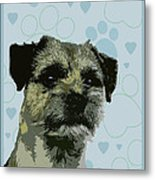 Border Terrier Metal Print