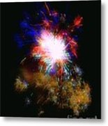 Born On The 4th Of July Metal Print