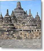 Borobudur Mahayana Buddhist Monument Metal Print
