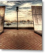 Boston - David Von Schlegell - Untiltled Metal Print