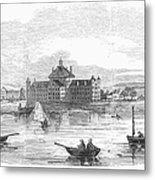 Boston: Almshouse, 1852 Metal Print