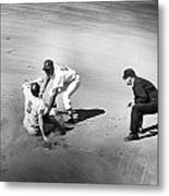 Boston: Baseball Game, 1961 Metal Print