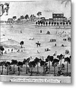 Boston Common, 1768 Metal Print