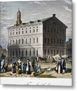 Boston: Faneuil Hall, 1776 Metal Print