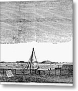 Boston Harbor, 1776 Metal Print