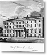Boston: Hotel, C1835 Metal Print