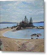 Boswell's Point-lake Superior Metal Print