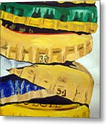 Bottle Caps Metal Print