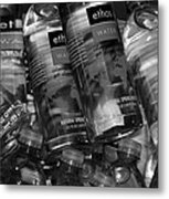 Bottles Of Water Metal Print
