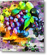 Bouquet Of Fruits Metal Print