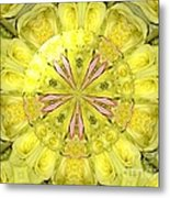 Bouquet Of Roses Kaleidoscope 12 Metal Print