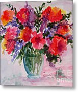 Bouquet Of Wishes Metal Print