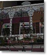 Bourbon Street Balcony Metal Print