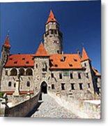 Bouzov Castle Metal Print