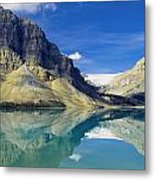 Bow Lake,alberta,canada Metal Print