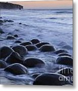 Bowling Ball Beach Metal Print