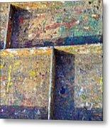 Box Palette Paint  Metal Print