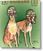 Boxer Brigade Chew Toys Metal Print