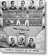 Boxing: American Champions Metal Print by Granger