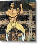Boxing Champion, 1790s Metal Print