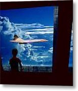 Boy And Concord Metal Print