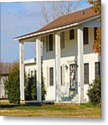 Boyd Lane Plantation Front Metal Print