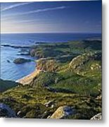 Boyeeghter Strand And Melmore Head Metal Print