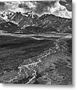 Braided River Metal Print