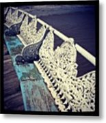 Branches On The Pier Metal Print