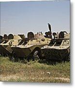 Brdm-2 Combat Reconnaissancepatrol Metal Print