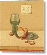 Bread And Water Metal Print