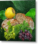 Bread Metal Print by Manfred Lutzius