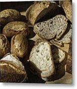 Bread Metal Print