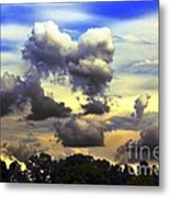 Break In The Clouds Metal Print