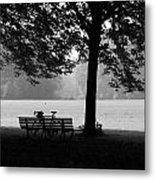 Break Time Metal Print