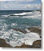 Breaking Waves 7919 Metal Print
