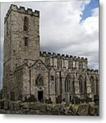 Breedon Church Metal Print