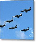 Breitling In The Air 04 Metal Print