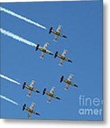Breitling In The Air Metal Print