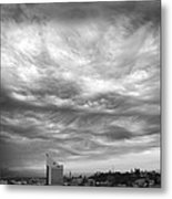 Brewing Sky Metal Print