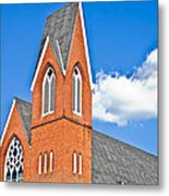 Brick Steeple Metal Print