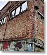 Brick Walls Metal Print