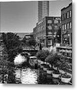 Bricktown Canal II Metal Print