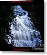 Bridal Falls B.c. Canada Two Metal Print