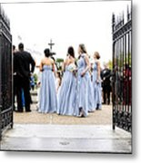 Bridesmaids Metal Print