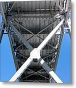 Bridge Bottom Metal Print