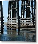 Bridge Detail Metal Print
