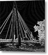 Bridge Electrified Metal Print by David Alvarez
